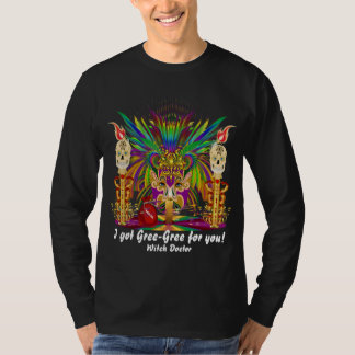 Lucky Mojo  Witch Doctor and Priestess View Notes T-shirts