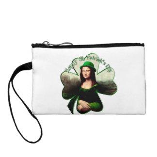 Lucky Mona Lisa Coin Wallet