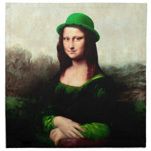 Lucky Mona Lisa Napkins