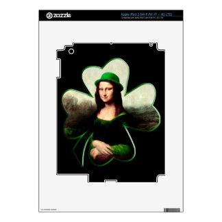Lucky Mona Lisa Skin For iPad 3