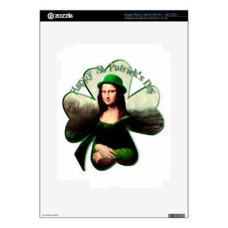 Lucky Mona Lisa Skins For iPad 3