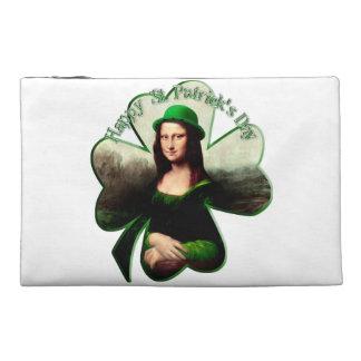 Lucky Mona Lisa Travel Accessory Bag