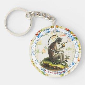 Lucky Monkey | Zodiac keychain