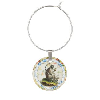 Lucky Monkey | Zodiac token Wine Charm