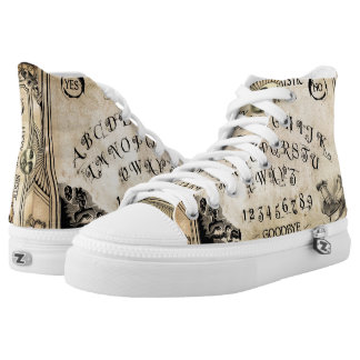 Lucky Mytic Oracle Board High Top Shoes