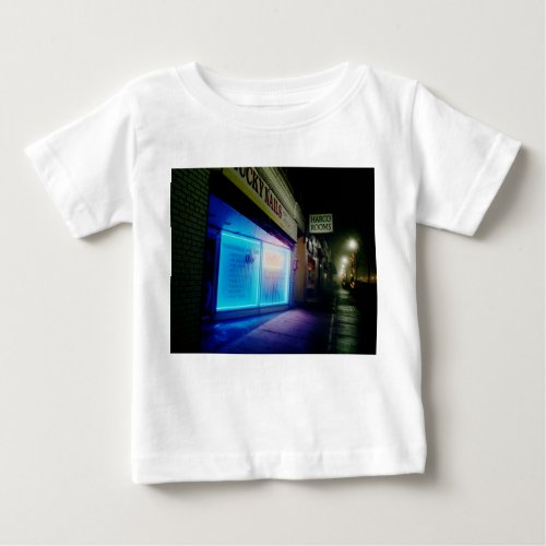 Lucky Nails - Cool Blue in the Night Baby T-Shirt