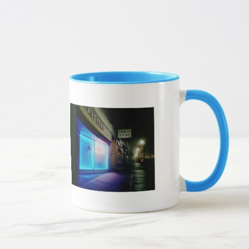 Lucky Nails - Cool Blue in the Night Double Mug