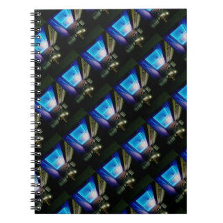 Lucky Nails - Cool Blue in the Night Notebook