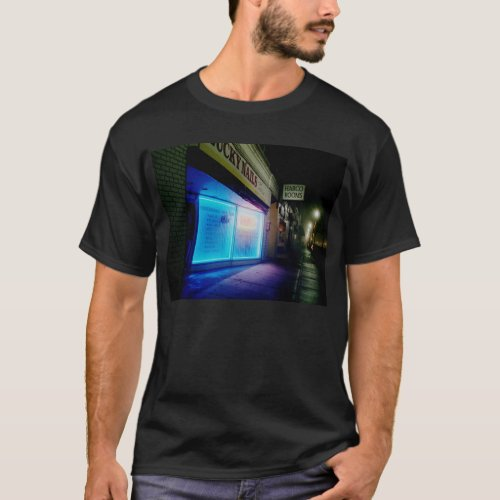 Lucky Nails - Cool Blue in the Night T-Shirt