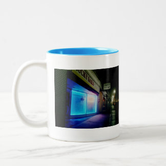 Lucky Nails - Cool Blue in the Night Two-Tone Coffee Mug