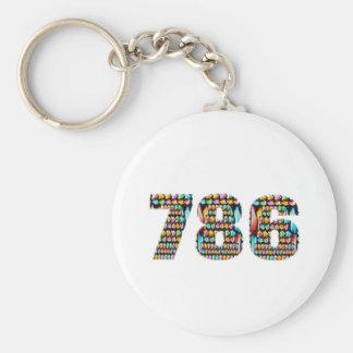 LUCKY no.786 Keychain