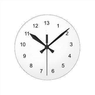 """Lucky"" novelty clock"