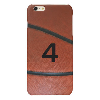 Lucky Number Basketball Glossy iPhone 6 Plus Case