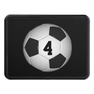 Lucky Number Classic Soccer | Football Tow Hitch Covers