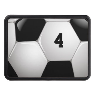 Lucky Number Classic Soccer | Football Hitch Covers