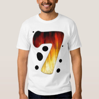 Lucky Number Seven T shirt #7