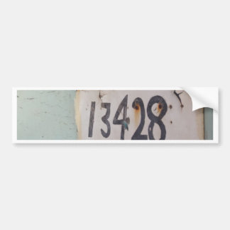 LUCKY NUMBERS BUMPER STICKER