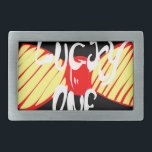 "Lucky One Belt Buckle<br><div class=""desc"">Lucky One Bow Tie Design</div>"