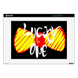 """Lucky One Decal For 15"""" Laptop"""