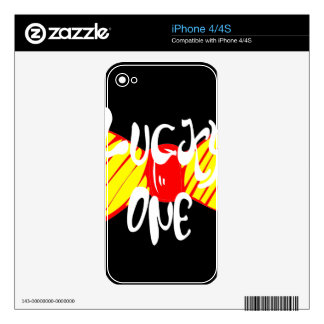 Lucky One iPhone 4 Skins