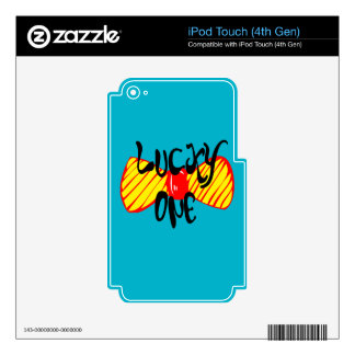 Lucky One iPod Touch 4G Decals
