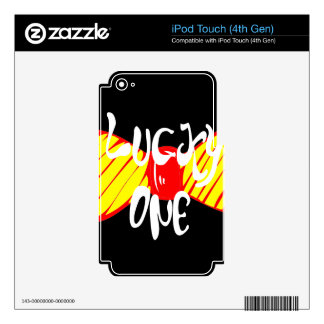 Lucky One iPod Touch 4G Skins