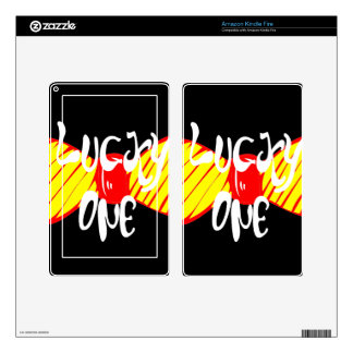 Lucky One Kindle Fire Skins