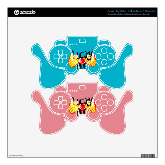 Lucky One PS3 Controller Skins