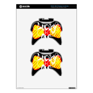 Lucky One Xbox 360 Controller Skins