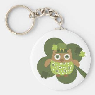 Lucky Owl Keychain