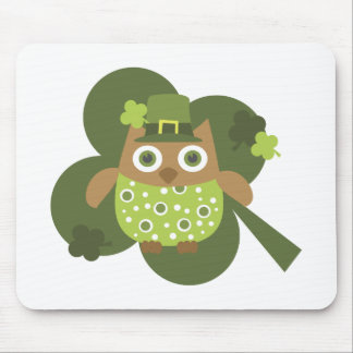 Lucky Owl Mouse Pad