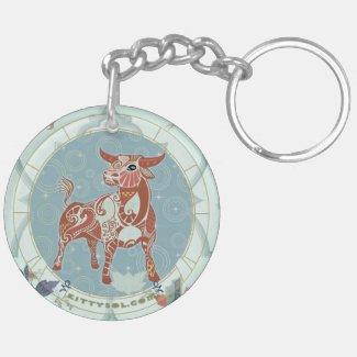 Lucky Ox | Zodiac keychain