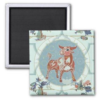 Lucky Ox | Zodiac magnet