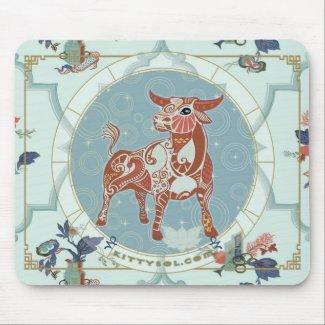 Lucky Ox | Zodiac mousepad