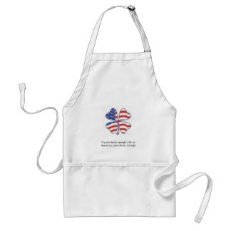 Lucky Patriot Adult Apron