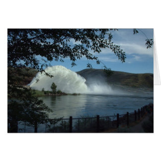 Lucky Peak Reservoir Rooster Tail Card