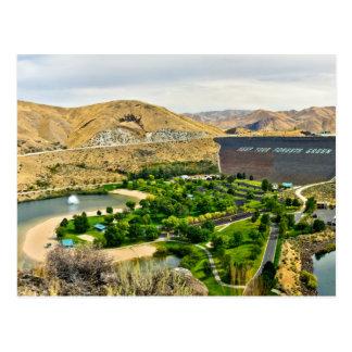 Lucky Peak State Park - Idaho Postcard
