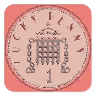 cloudsendgallery Lucky Penny Sticker