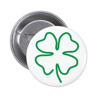 Lucky Pinback Buttons