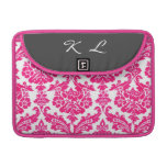 lucky pink damask pattern sleeve for MacBook pro