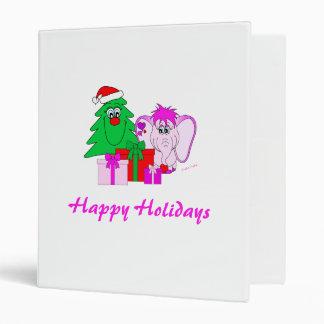 Lucky Pinkie Happy Holidays Binder