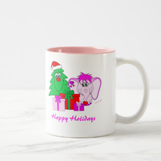 Lucky Pinkie Happy Holidays Mug