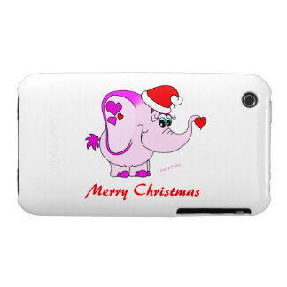 Lucky Pinkie Merry Christmas iPhone 3 Case