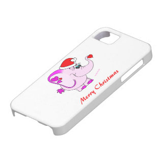 Lucky Pinkie Merry Christmas iPhone 5 Case