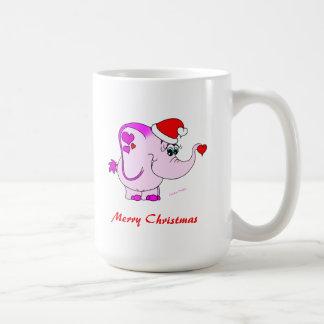 Lucky Pinkie Merry Christmas Mug