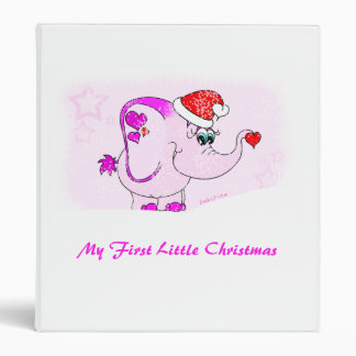 Lucky Pinkie My First Christmas Binder