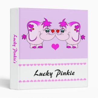 Lucky Pinkie Valentine's Day Binder