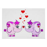 Lucky Pinkie Valentine's Day Poster