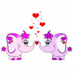 Lucky Pinkie Valentine's Day Sculpture Photo Cutouts