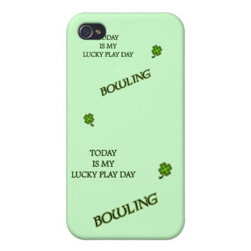 Lucky Play Day Bowling iPhone 4/4S Covers